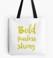 Bolsa de tela Bold fearless strong - Green
