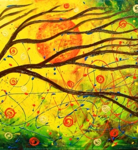 The Tree Cosmos by Abstract D'Oyley