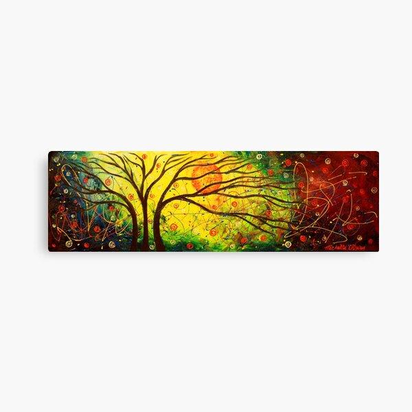 The Tree Cosmos Canvas Print