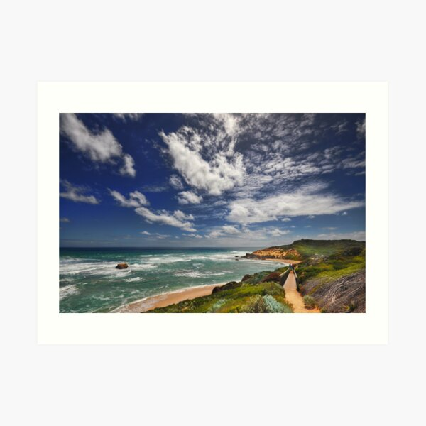 Sorrento Back Beach Art Print