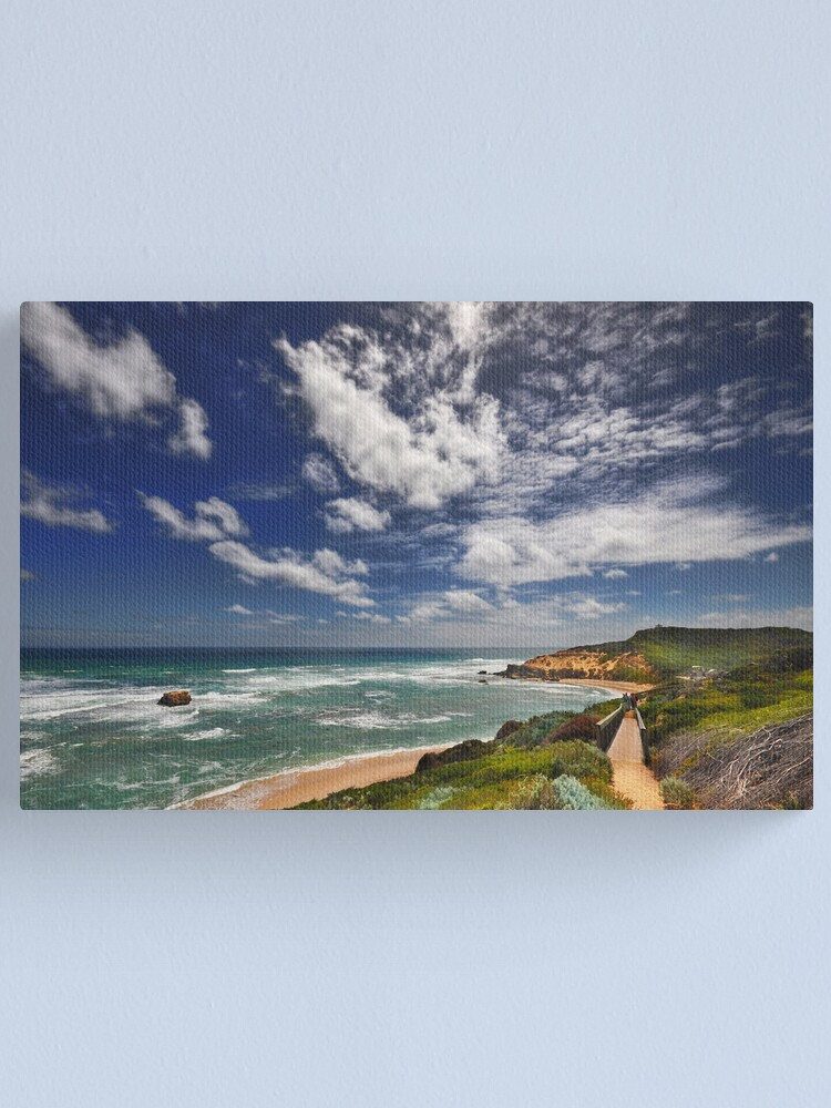 Alternate view of Sorrento Back Beach Canvas Print