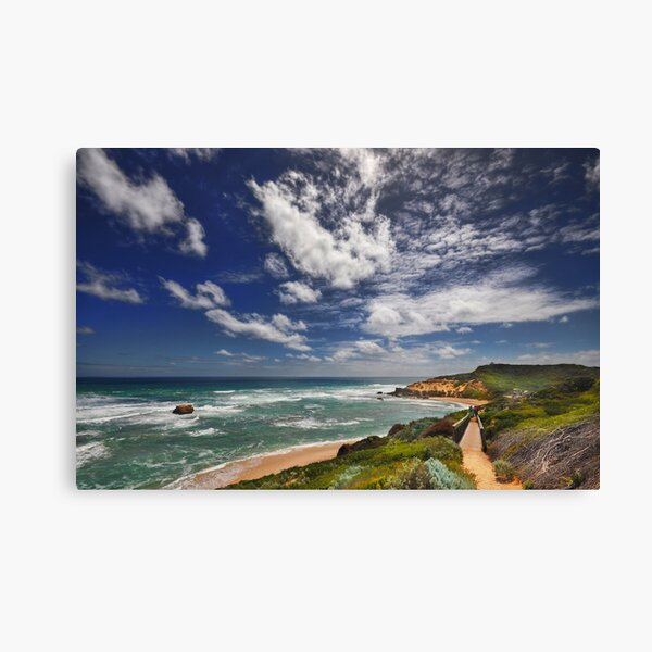 Sorrento Back Beach Canvas Print