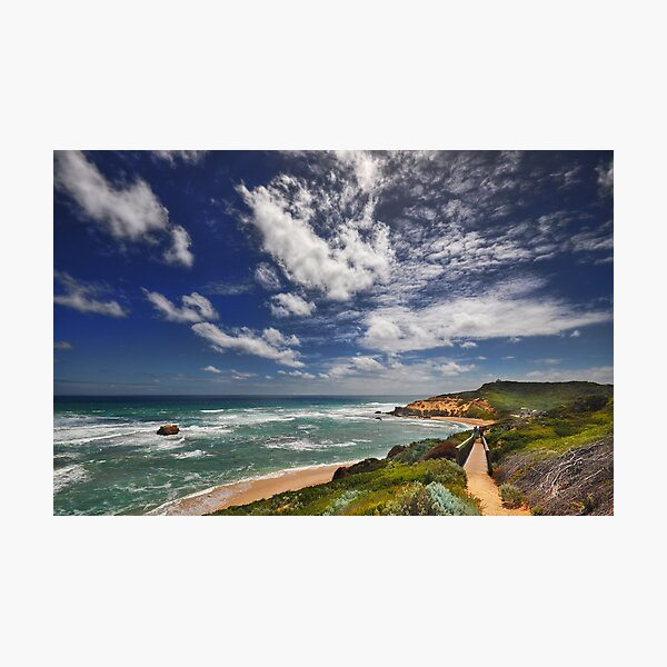 Sorrento Back Beach Photographic Print