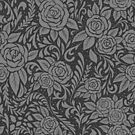 Floral Tile Pattern - Grey 1 by RainbowFoxy