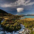 Lake Pukaki Lakescape by Robert Mullner