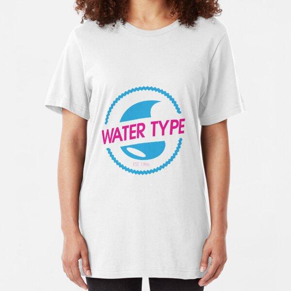 Water Type Slim Fit T-Shirt