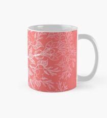 fleur de cerisier mandala- corail sakura Mug