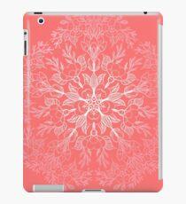 cherry blossom mandala- Coral sakura iPad Case/Skin