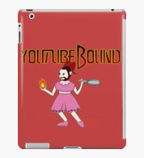 Youtubebound Wade iPad Case/Skin