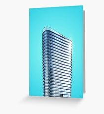 Modern Glass Building Picture Greeting Card
