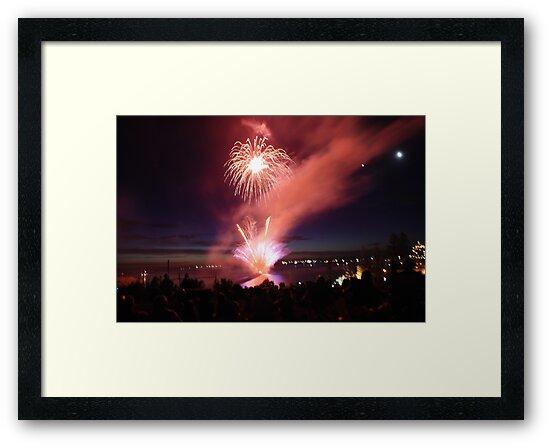 Harrington fireworks by Graham Mewburn