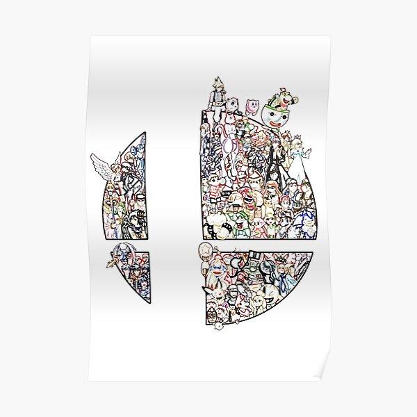 Super Smash Pen Poster