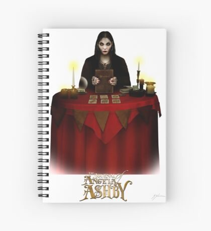 The Journal of Angela Ashby - Madame Vadoma T-shirt 2 Spiral Notebook