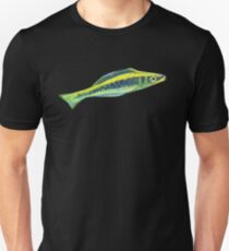 Bluehead wrasse painting - 2012 T-Shirt