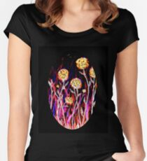 Melody of Flowers Fitted Scoop T-Shirt