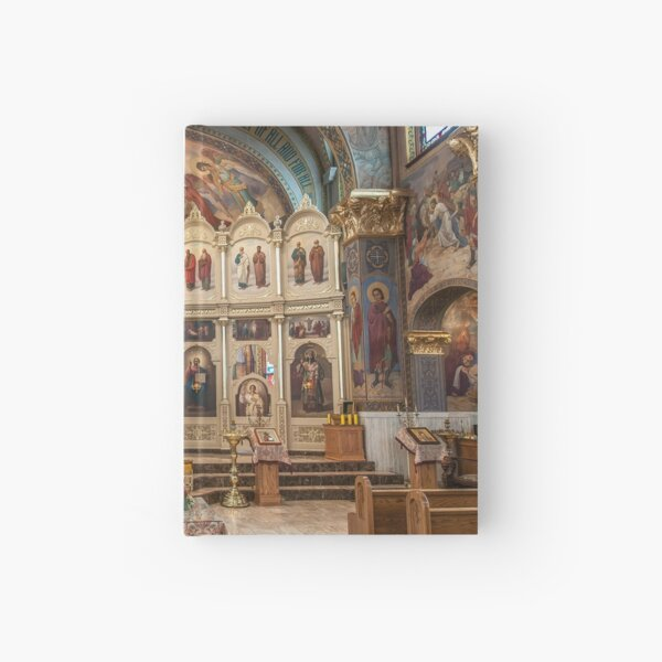 A classic Orthodox Cathedral. Hardcover Journal