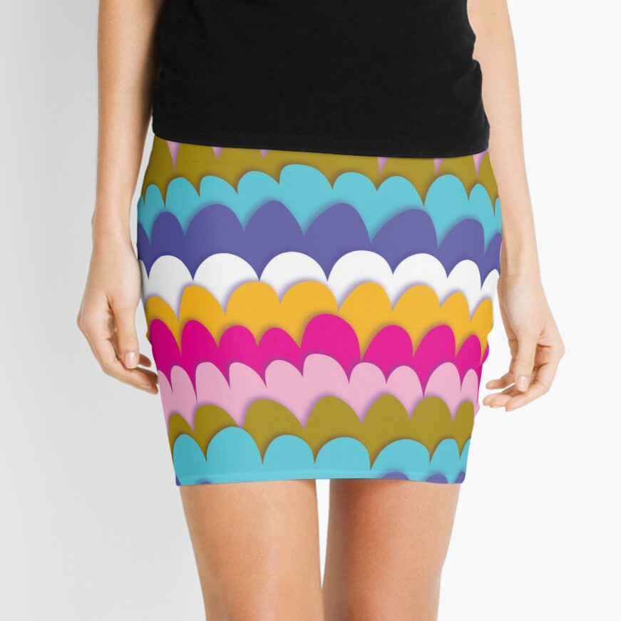 SCALES IN BALANCE Mini Skirt