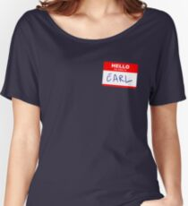 Hi, my name is Earl Women's Relaxed Fit T-Shirt