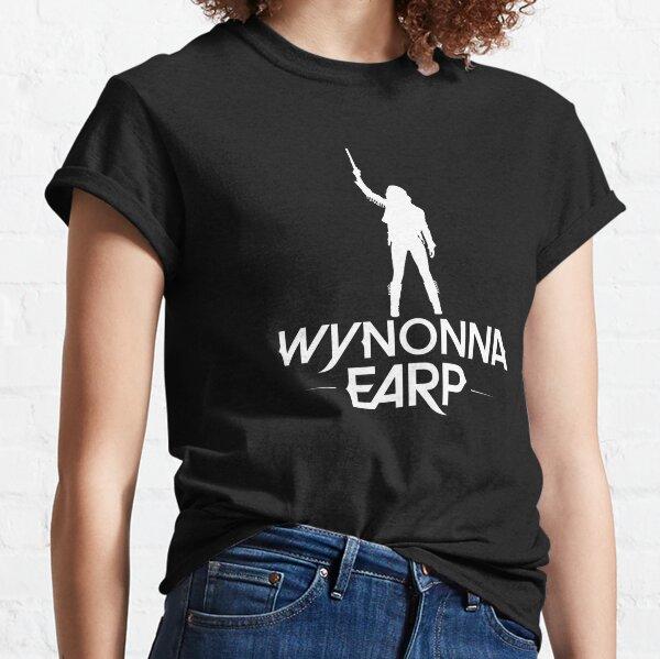 Silueta de Wynonna Earp - blanco Camiseta clásica