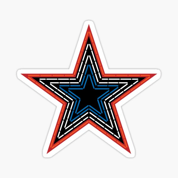 Roanoke Pride Mill Mountain Star Sticker