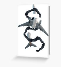 Oceanic 815 Crash Wreckage and Smoke Monster - LOST Greeting Card