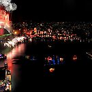 Sydney new years eve from the 47th floor by scottsphotos