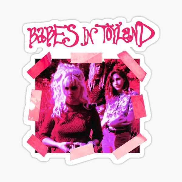 Babes In Toyland (Band) Sticker