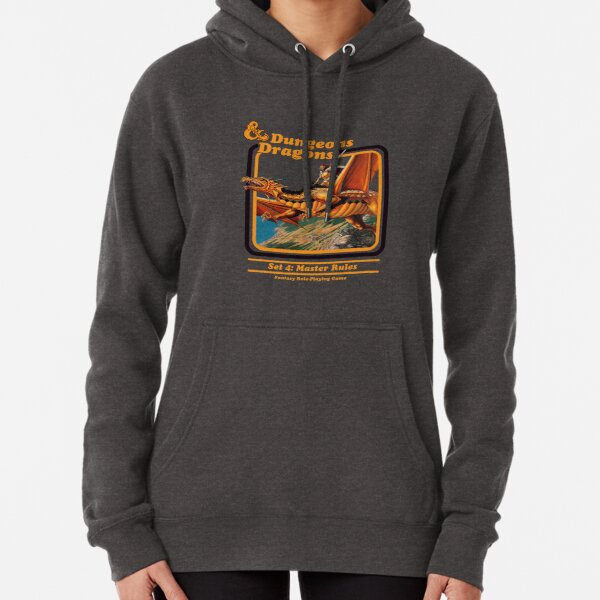 80's Dungeons & Dragons: Set 4 Master Rules Pullover Hoodie