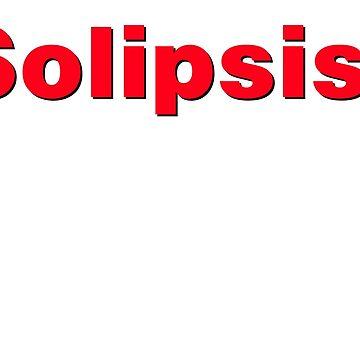 Solipsist - noir-rouge by GodsAutopsy