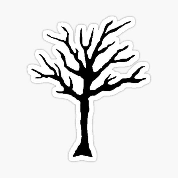 XXXTENTACION Tree Tattoo Logo Sticker