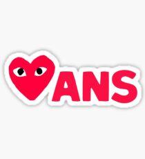 Comme Love X Ans Sticker