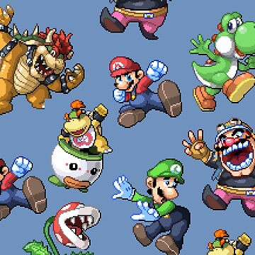 Super Mario Character by MisterPixel