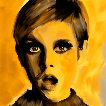 Twiggy Yellow art by NoraMohammed