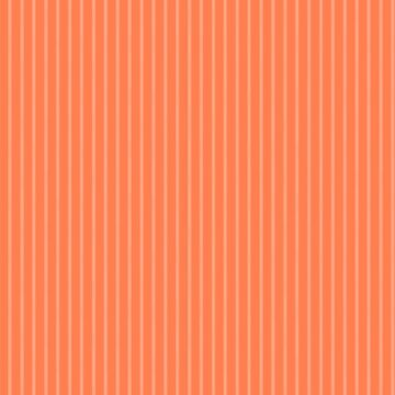 Living Coral Color Pinstripes by Gravityx9