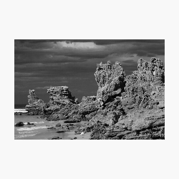 Point Roadknight Beach Anglesea Surf Coast VIC Photographic Print