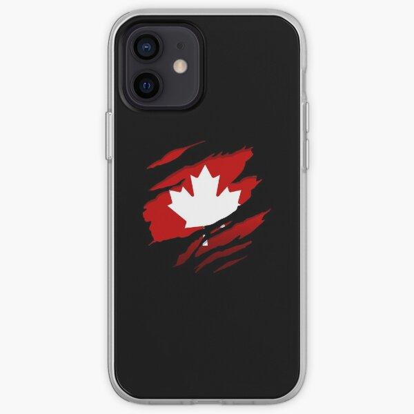 Canada Red Leaf iPhone Soft Case