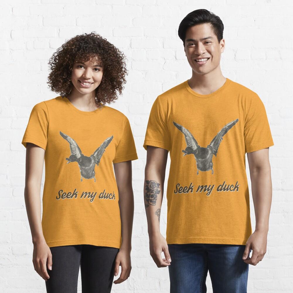 Seek my duck - engraving Essential T-Shirt