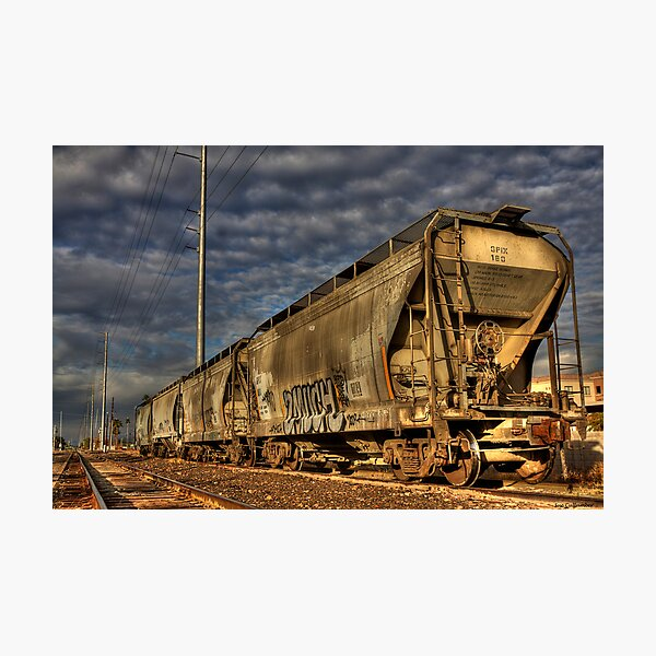 Train of Gold Photographic Print