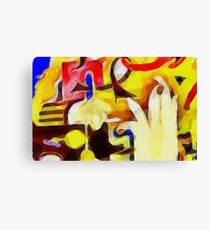Mac Miller Faces Canvas Print