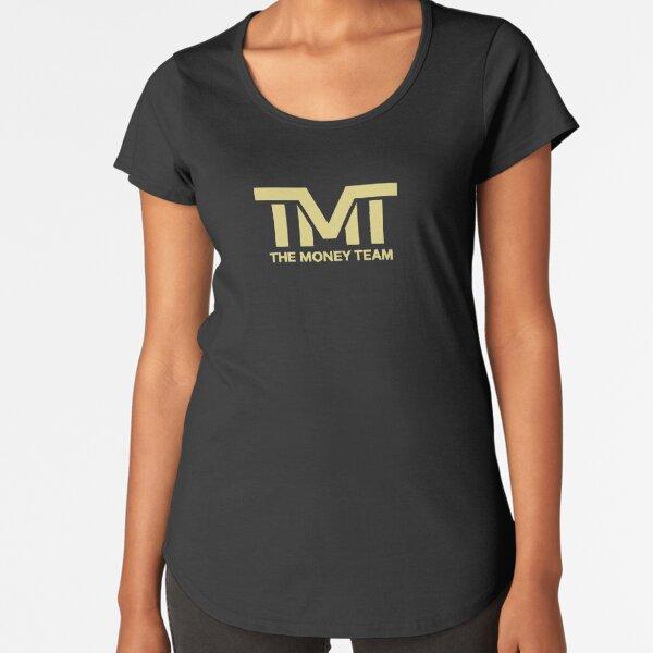 tmt mayweather Camiseta premium de cuello ancho