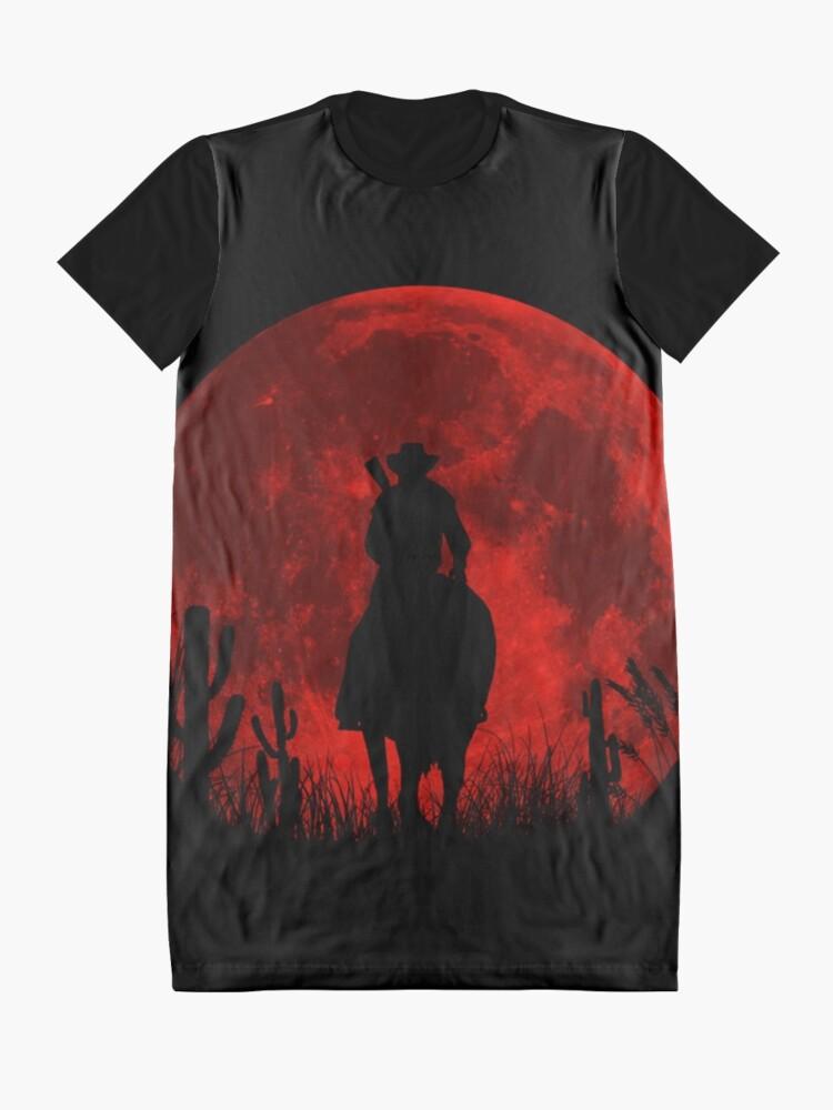 Alternative Ansicht von Red Dead Redemption 2 T-Shirt Kleid