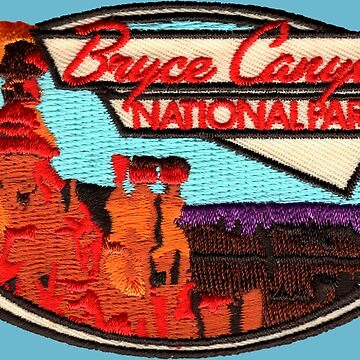 Bryce Canyon National Park Vintage Patch by hilda74