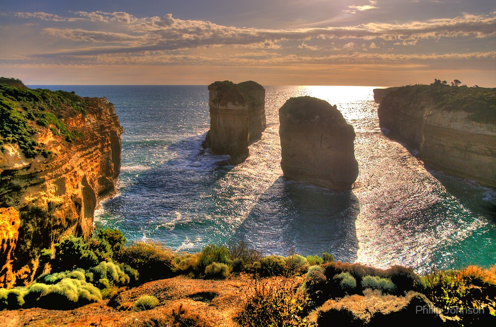 Degrees of Separation #4 - Twelve Apostles, Great Ocean Road - The HDR Experience by Philip Johnson