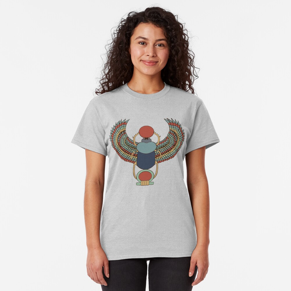 Winged Heart Scarab Classic T-Shirt