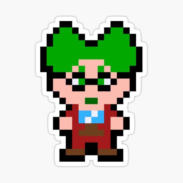 Pixel Dr. Wright Sticker