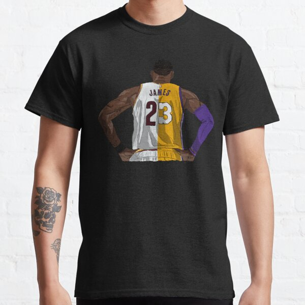 LeBron James Cavs vs Lakers Classic T-Shirt
