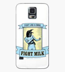 Kampfmilch Hülle & Klebefolie für Samsung Galaxy