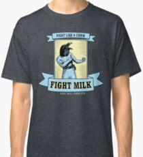 Camiseta clásica Leche de lucha