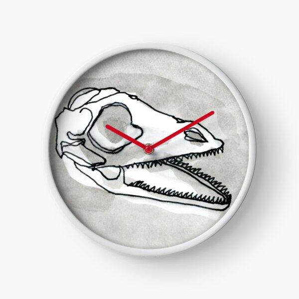 Anole Skull Clock