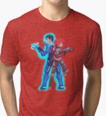 Mass Effect - Shenko Action [Commission] Tri-blend T-Shirt